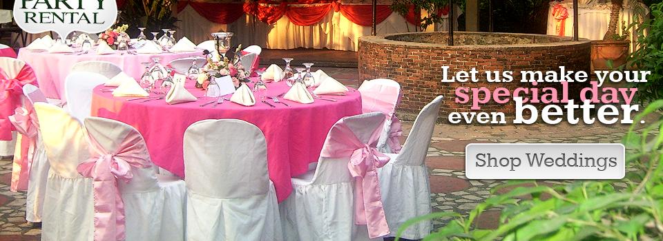 Maryland party rental a beautiful wedding reception scene junglespirit Images